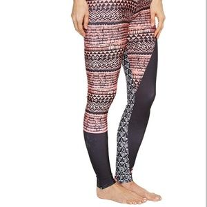 Onzie Pants - ONZIE graphic jungle pattern leggings yoga dance